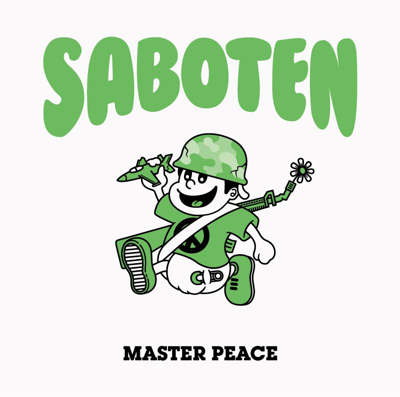 """SABOTEN 3年ぶりのオリジナルアルバム""""MASTER PEACE""""発売決定!MUSIC VIDEO、全曲トレイラーも公開!"""